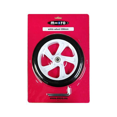 [스쿠터 구매자 전용상품] 스쿠터 화이트 바퀴(200mm)